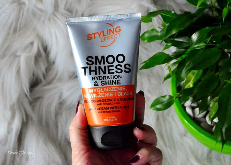 Styling Effect Krem do włosów z 4 olejkami Wielofunkcyjny Joanna - recenzja