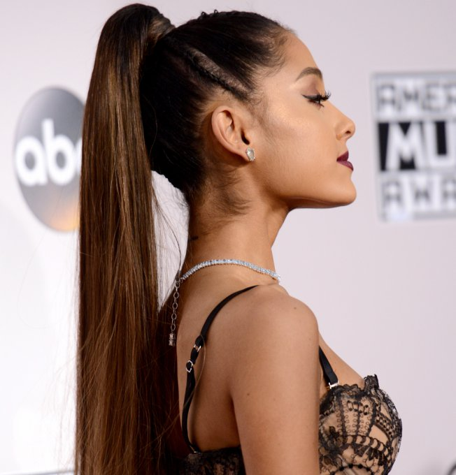 Five Steps to Ariana Grande's High Ponytail Look