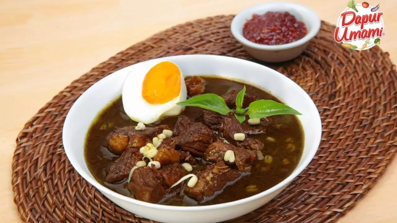 Resep dan Cara Pembuatan Rawon Khas Indonesia
