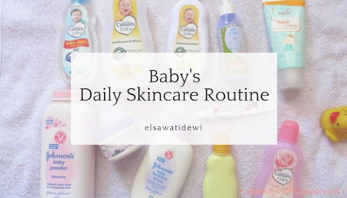 Baby's Daily Skincare Routine, Rangkaian Perawatan Bayi