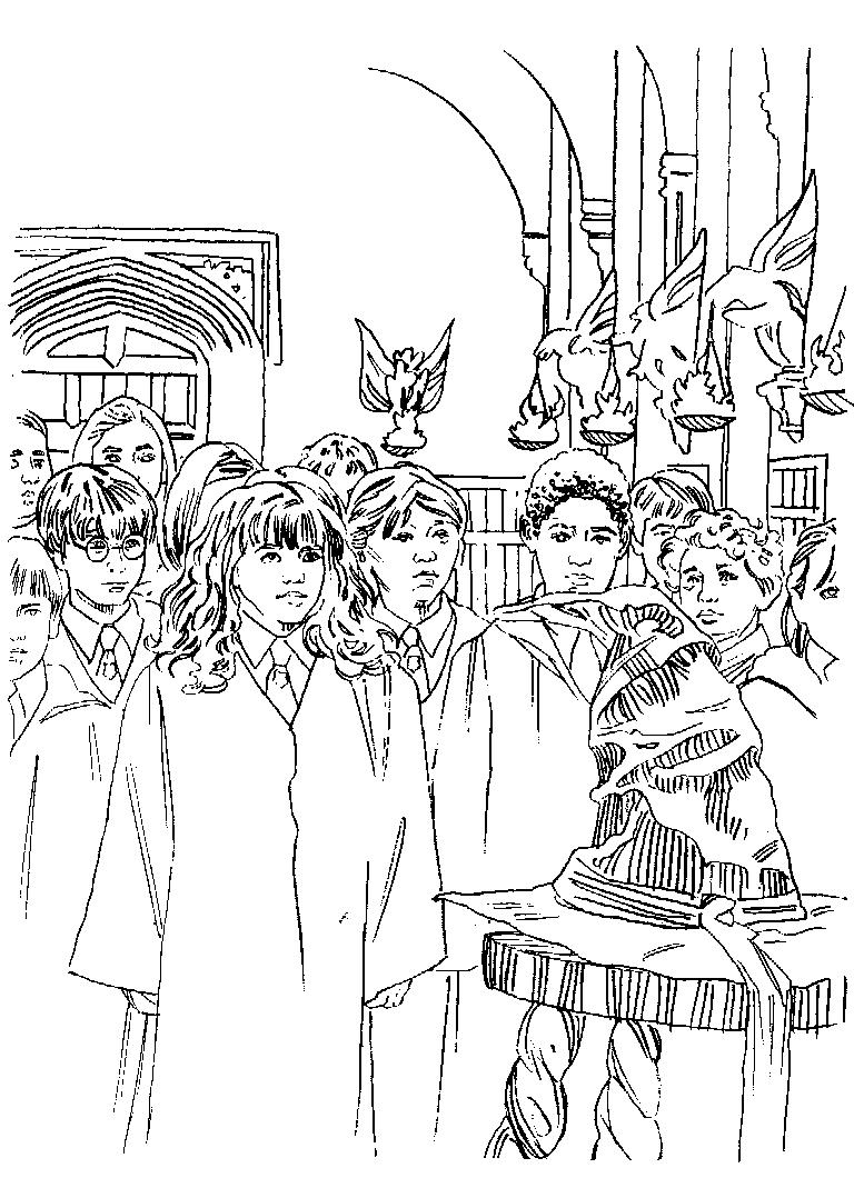 Harry Potter Ausmalbilder Zum Ausdrucken