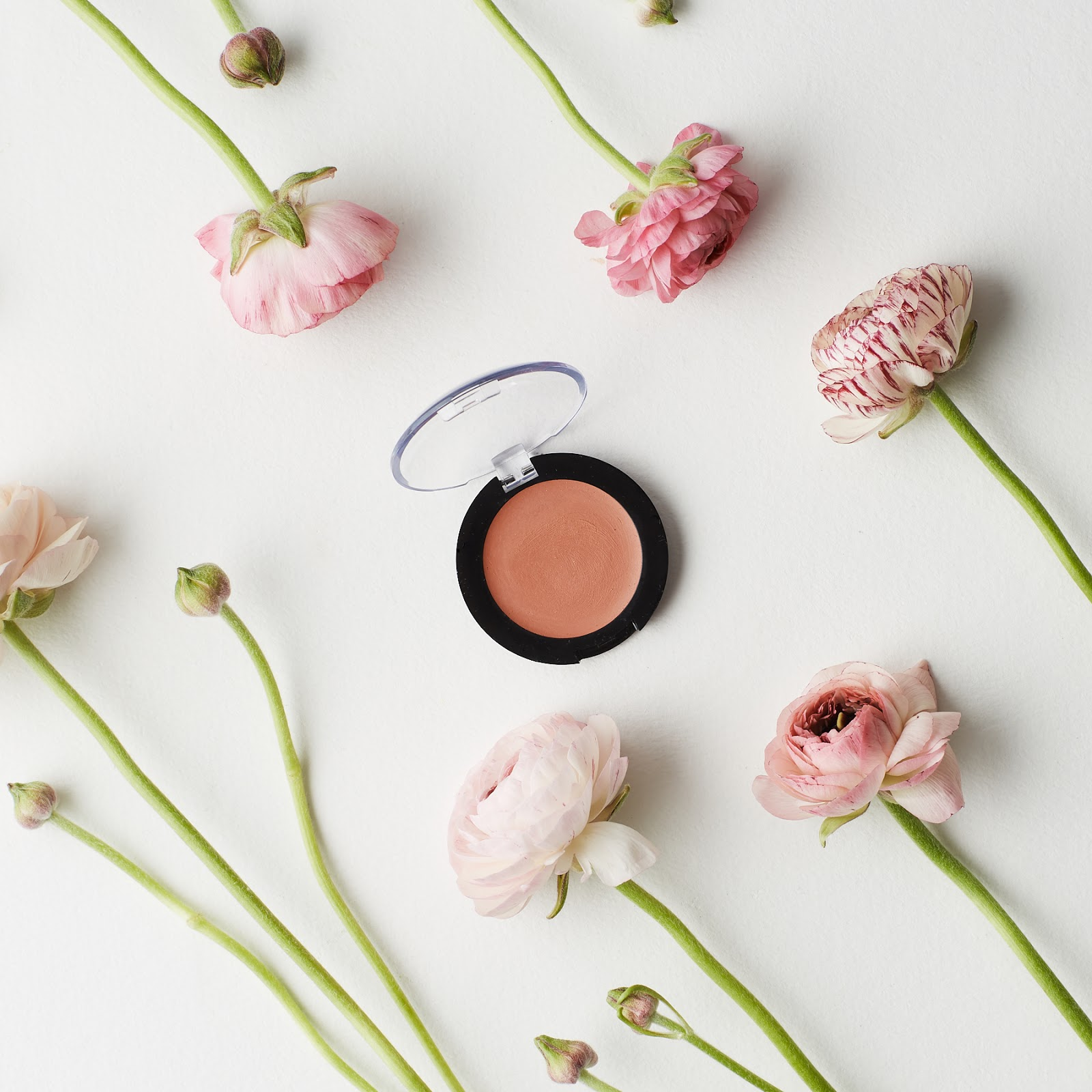 The All Natural Face Vegan Matte Cream Blush Review peachy rose organic nontoxic makeup dye free hellolindasau