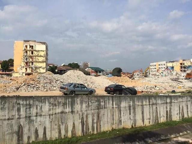 Kolej Jati UiTM Shah Alam tinggal kenangan.