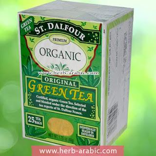 افضل شاي اخضر عضوي من اي هيرب