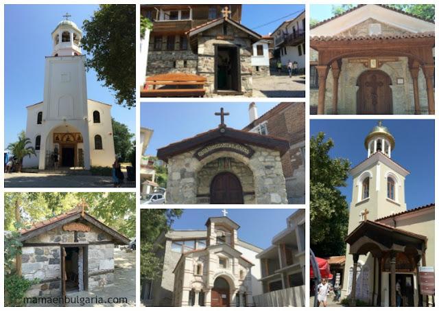 Las iglesias de Sozopol, Bulgaria