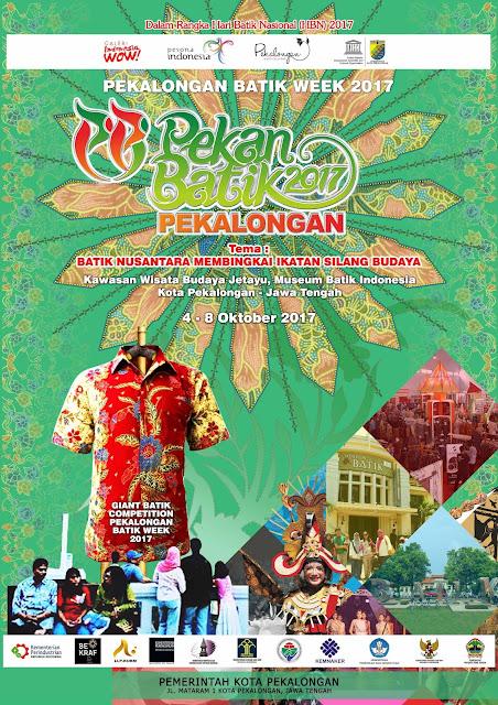 Pekalongan Batik Week 2017 – Pekan Batik Nusantara 2017