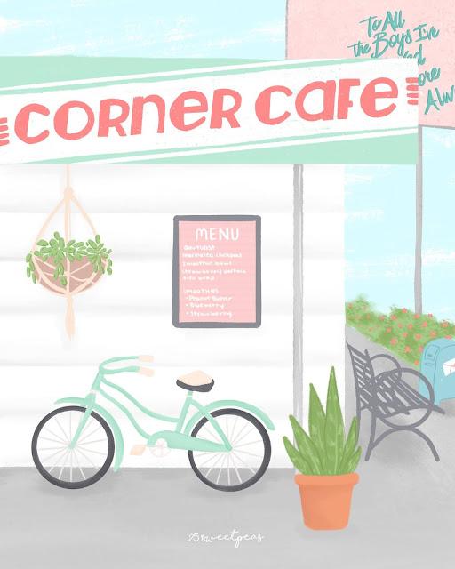 #ToAllTheFanArt-Corner-Cafe-25-Sweetpeas