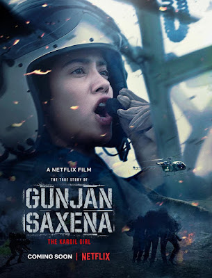Gunjan Saxena The Kargil Girl 2020 Hindi 720p WEB HDRip HEVC x265