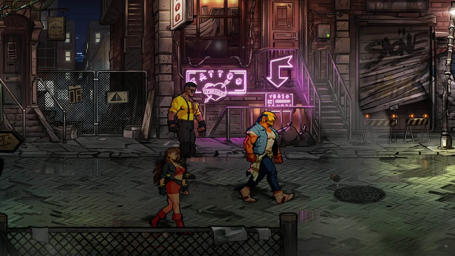 streets of rage 4 local co op multiplayer online release pc steam ps4 switch xb1 classic side-scrolling beat 'em up axel stone blaze fielding adam cherry hunter floyd iraia dotemu guard crush games lizardcube sega