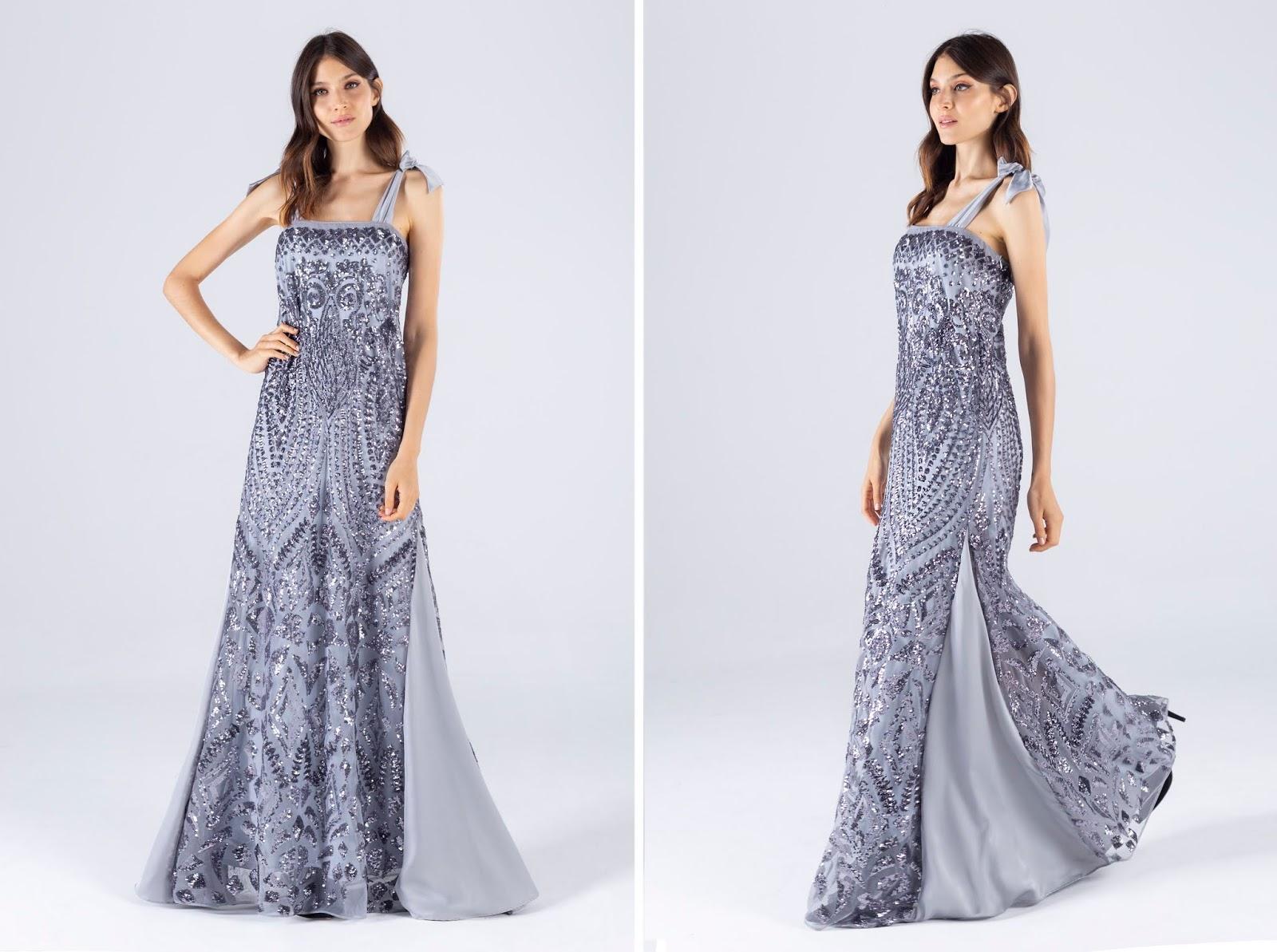 Vestidos de fiesta verano 2020 moda mujer. Moda 2020 vestidos de fiesta largos.