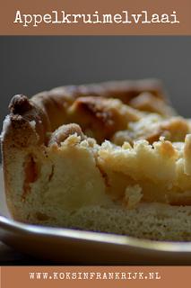 Recept voor zelfgemaakte appelkruimelvlaai