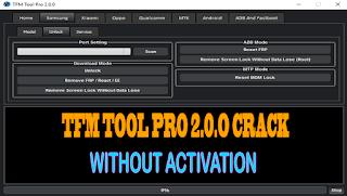 TFM Tool Pro 2.0.0
