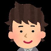 男性の顔アイコン 3