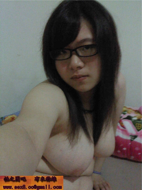 Chubby Chinese girl's big boobs, pink nipple and hairy pussy self photos leaked (49pix)