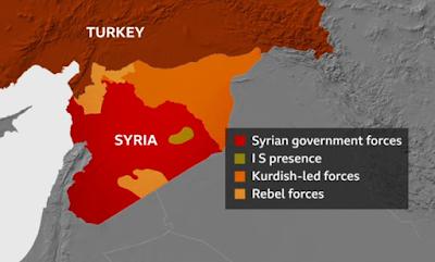 Εισβολή της Τουρκίας στη Συρία - Ξεκίνησε η επίθεση κατά των Κούρδων