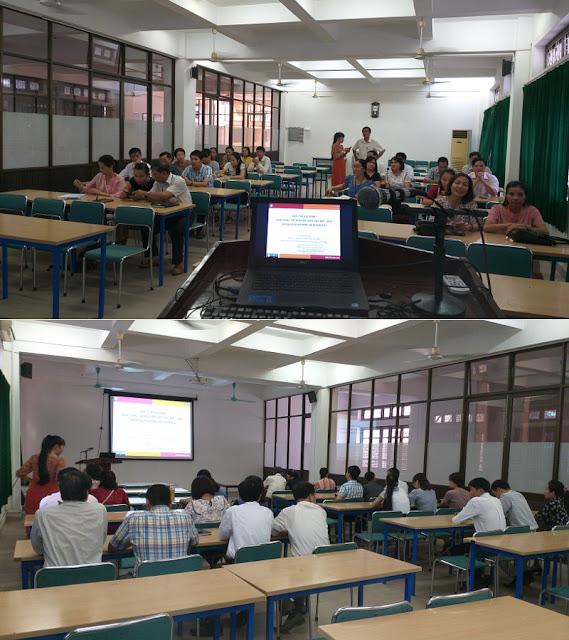 Giới thiệu và demo khai thác tài nguyên giáo dục mở ở trường Cao đẳng Sư phạm Thừa Thiên - Huế