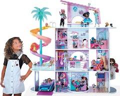 Новый большой кукольный дом LOL Surprise OMG House of Surprises с 85 сюрпризами