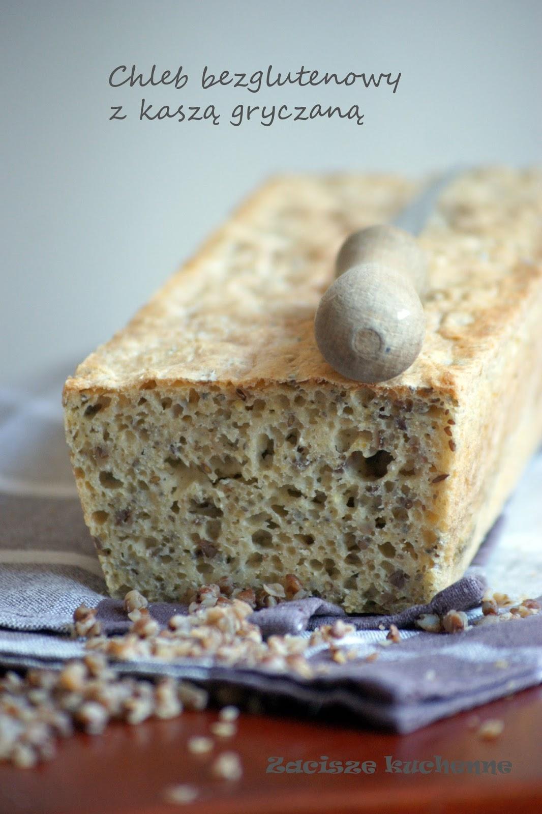 chleb bezglutenowy z kaszą gryczaną