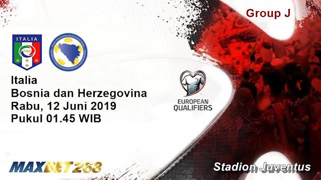 Prediksi Italia Vs Bosnia Herzegovina, Rabu 12 Juni 2019 Pukul 01.45 WIB