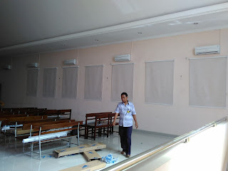 Proyek  Roller Blind Gereja Banjaran kab Tegal