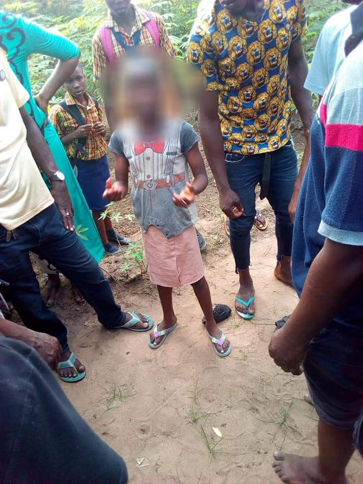 Man caught raping a little girl inside a bus in Abia state