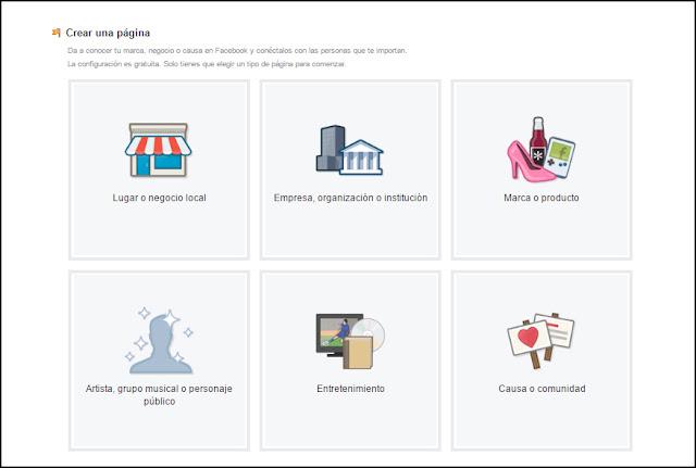 Cómo crear una página en Facebook para tu negocio - Parte 1