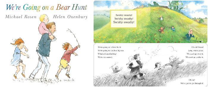 los mejores cuentos y libros infantiles en inglés We're going on a bear hunt
