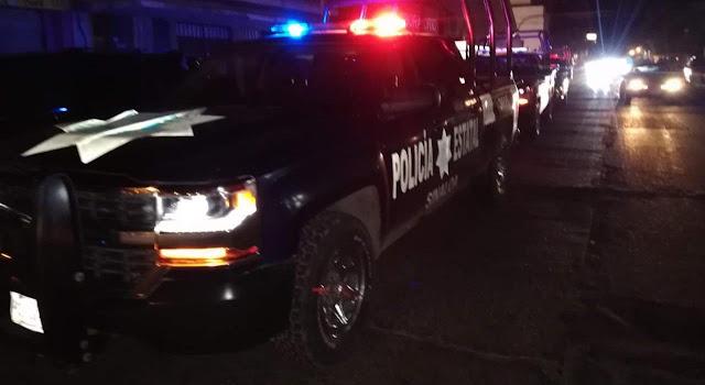 Convoy de Sicarios transitan calles de Culiacán y le dan un balazo en el pie a joven de 12 años que pasaba por el lugar