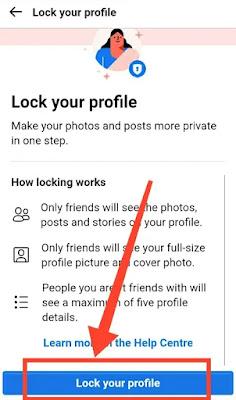Facebook profile lock kaise kare?