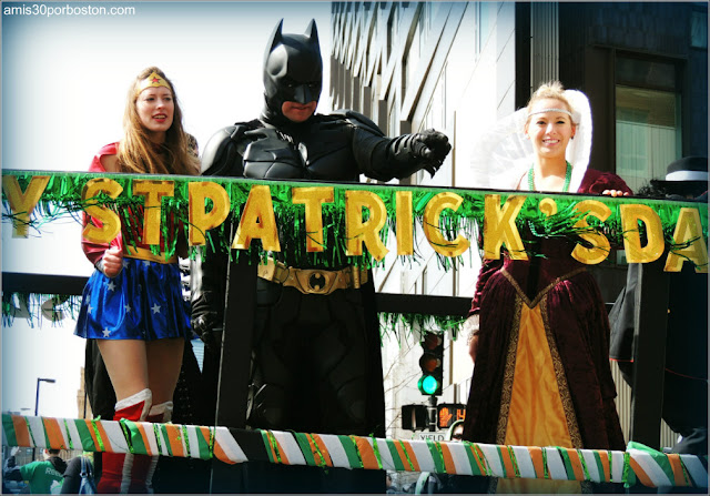 Saint Patrick´s Day en Boston: Superhéroes Americanos