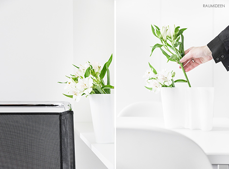 Blumendeko mit Inkalilien - Savoi Vase