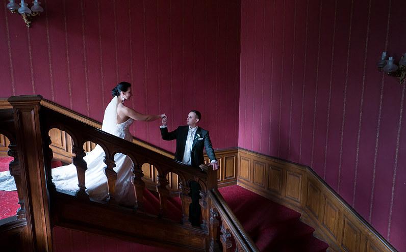Vestuvinė fotosesija Verkių rūmuose