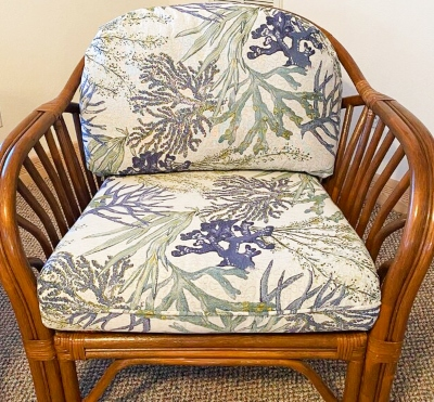 Reef Fabric Upholstered Chair