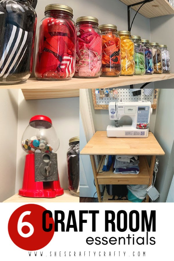 6 essentials to have in any craft room