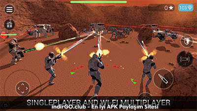 CyberSphere Sci-fi Shooter MOD APK