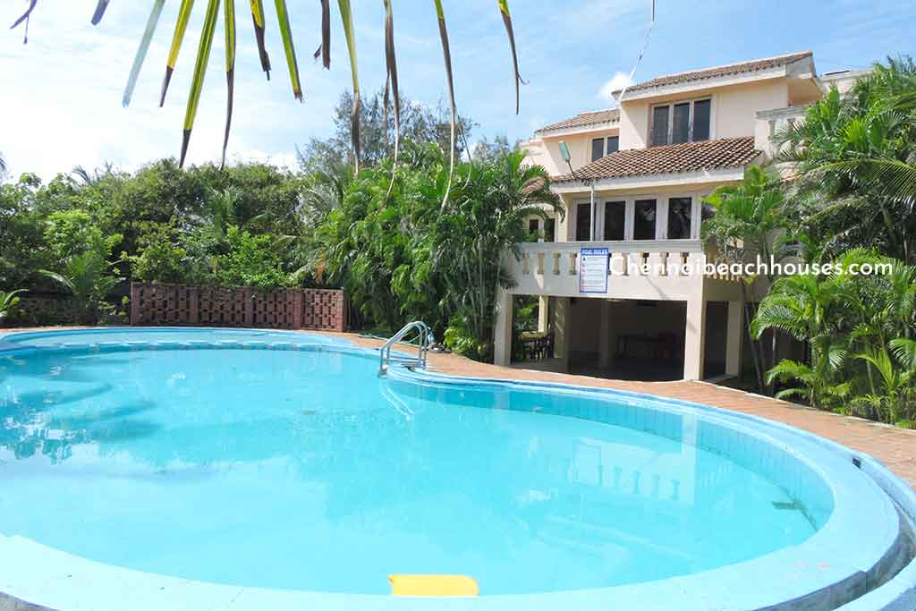 laughing water beach house for rent in uthandi ecr