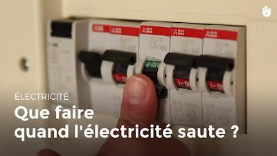 Que faire quand l'électricité saute ?