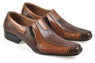 Sepatu Formal Pria Kulit Asli DYC 003 Model Elegan