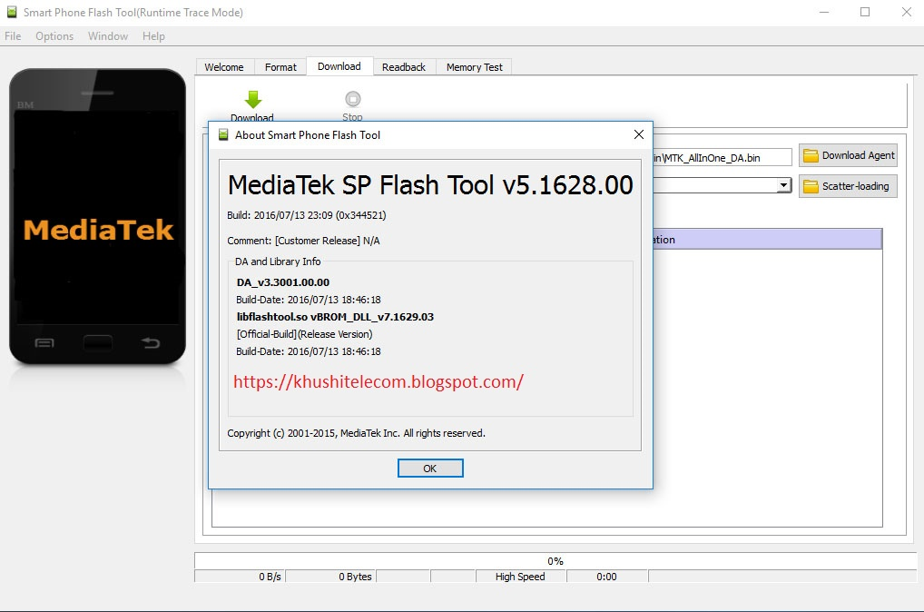 Download SP Flash Tool v5.1844 - Official SP Flash Tool ...