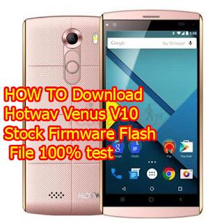 Hotwav V10 Flash File Stock Firmware