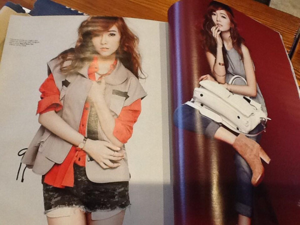 Jessica on W Korea Magazine April Issue Preview