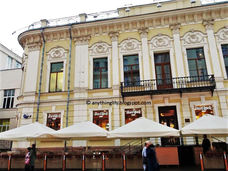 St Petersburg Hard Rock Cafe