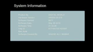 GX6605S HW203.00.019 HD RECEIVER CLINE OK NEW SOFTWARE