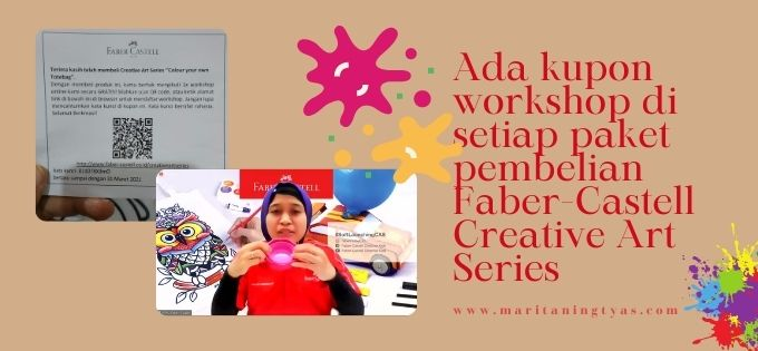 workshop creative art series by Faber-Castell