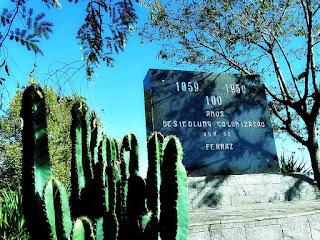 Monumento Alemão da Comunidade de Ferraz, em Vera Cruz (RS)