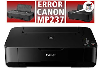Error Printer Canon MP237