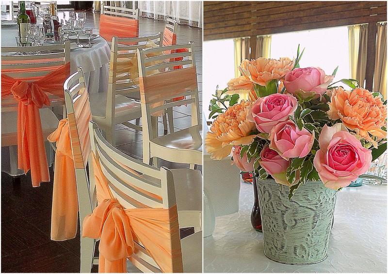 цветочные композиции на столы
