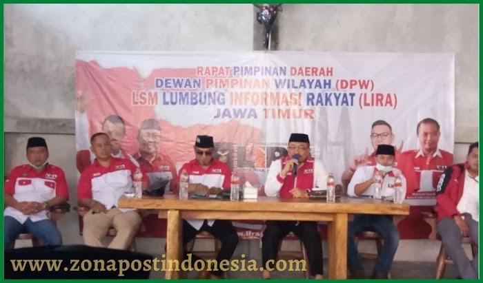 DPW LSM Lumbung Informasi Rakyat (LIRA), Gelar Rapat Pimpinan Daerah Di Surabaya