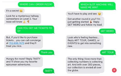 Cosmopolitan Hotel chatbot