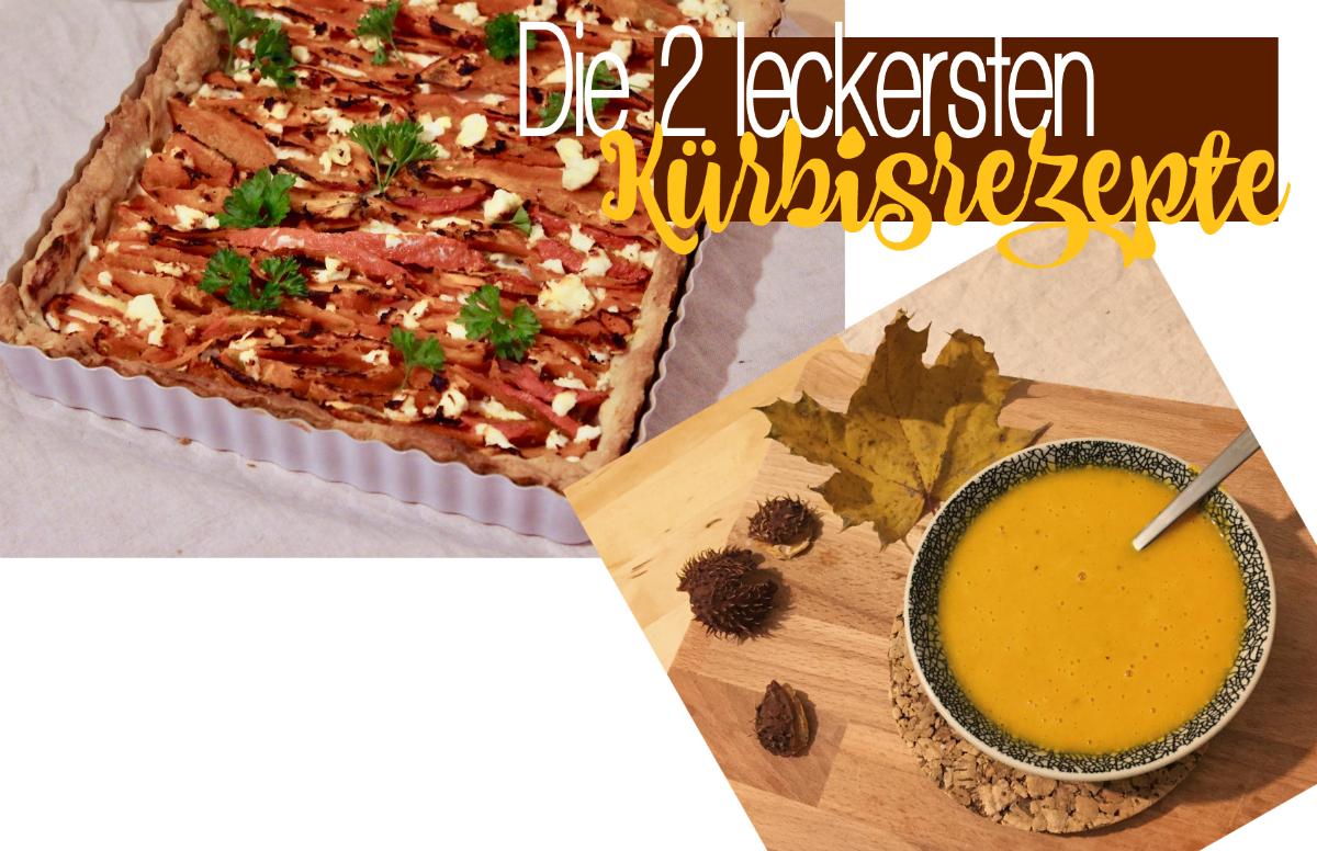 Rezepte herbstliche Kürbis Karotten Ingwer Suppe, Kürbis Ziegenkäse Tarte www.theblondelion.com/2016/11/kuerbis-tarte-ziegenkaese-kuerbis-karotte-ingwer-suppe.html